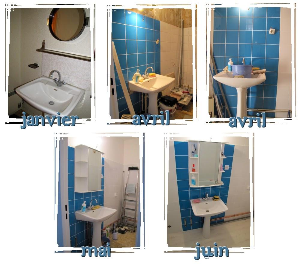 princesse fait son nid travaux salle de bain. Black Bedroom Furniture Sets. Home Design Ideas