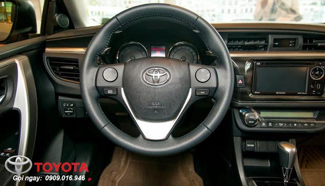 Tay lái 4 chấu thể thao của Corolla Altis 2.0 V