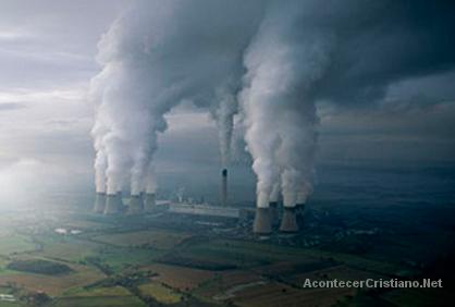 Contaminación de la Tierra cambio climático