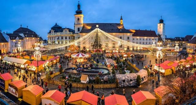 Targul de Craciun din Sibiu 2016