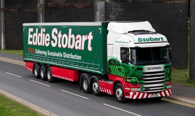 gambar truck scania trailer keren