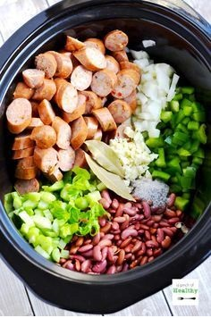 Red Beans And Rice In The Slow Cooker