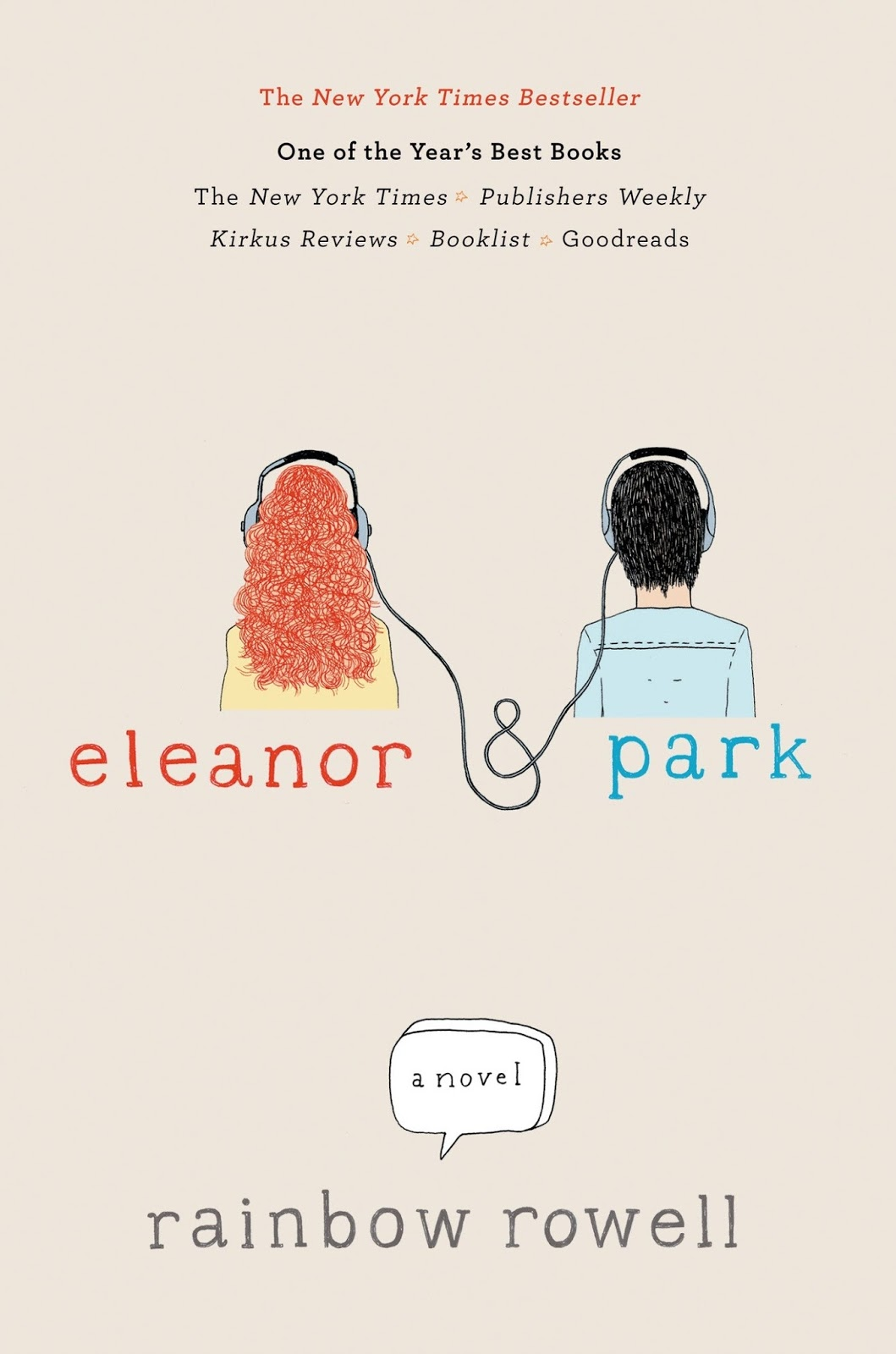 eleanor & park, ya books, young adult books