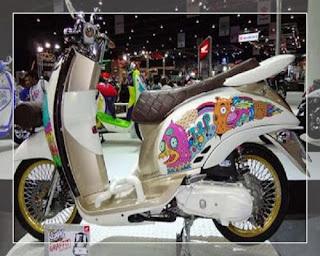 modifikasi scoopy ala thailand modifikasi scoopy ala retro