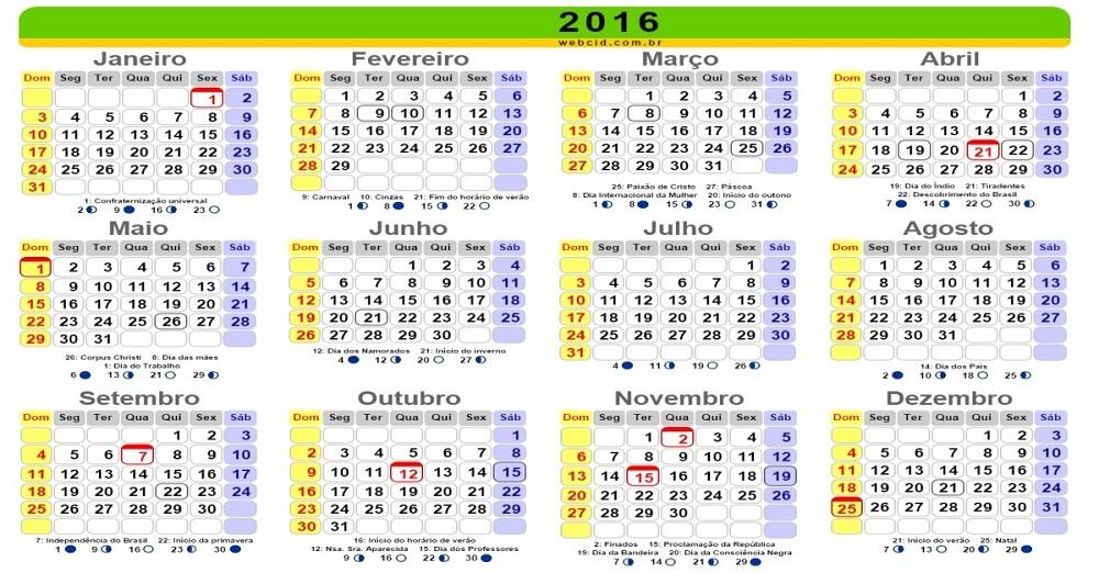 Playas de brasil calendario for Calendario ferias