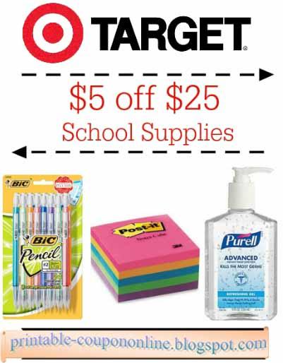 Free printable target coupons 2018