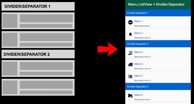 Membuat Group Menu Menggunakan ListView di Android
