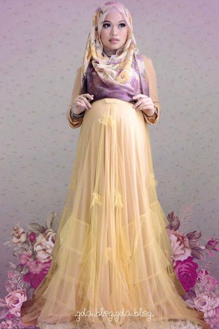 Tips Memilih Baju Muslim Untuk Ibu Hamil