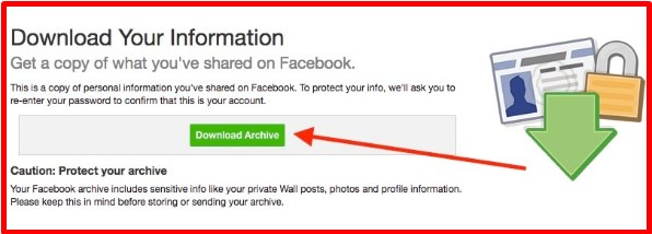 how can you access deleted messages on facebook