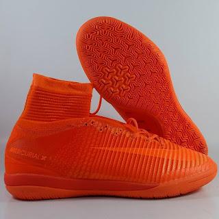 Nike Mercurial X Proximo IC Total Orange  Sepatu Futsal , jual futsal nike ,nike mercurial superfly,  mercurial proximo , black gum, harga futsal superfly, futsal replika premium
