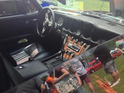 Jensen Interceptor Interior Drivers Dashboard Cluster Steering Wheel Seats