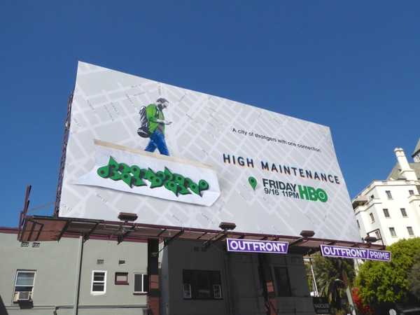High Maintenance season 1 billboard