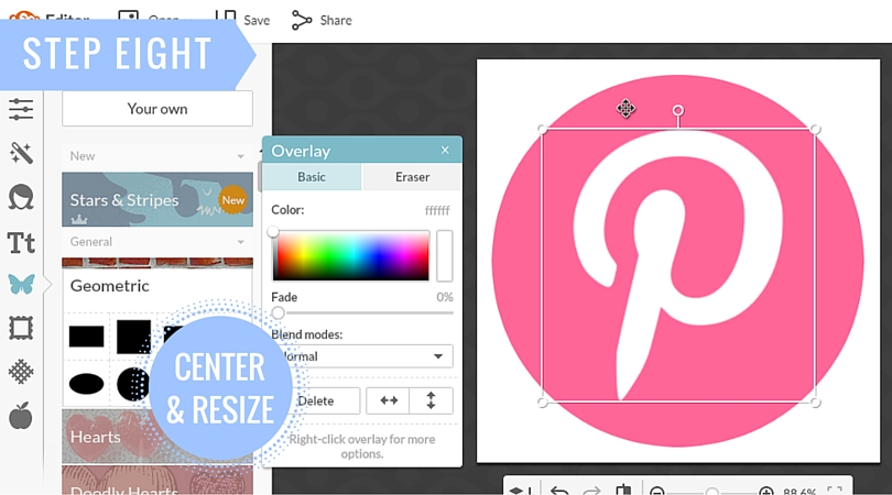 How To Create a Custom Social Media Icon by Eloise Edition