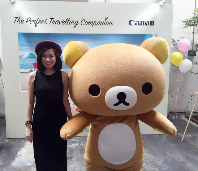 Travel the world and unleash your creativity with Canon EOS M10 and Rilakkuma