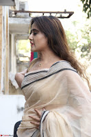 Sony Charishta in Brown saree Cute Beauty   IMG 3588 1600x1067.JPG
