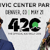 Denver's 420 Rally Headlined by .@wizkhalifa and .@LilTunechi