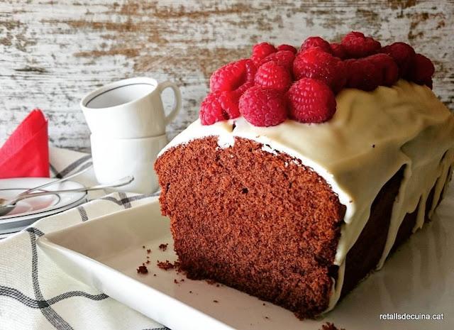 Plumcake de dues xocolates amb gerds.