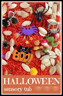 How to make a Halloween sensory tub