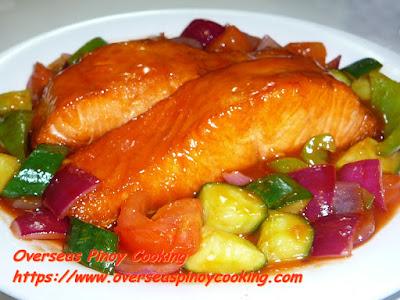 Sweet and Sour Tasmanian Salmon Recipe