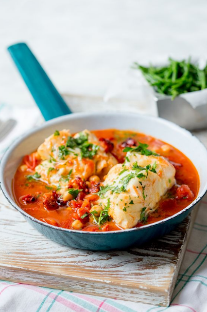 Spanish Cod One Pot