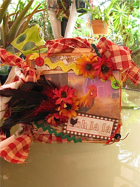 Martica Designs French Counrty Rooster Mini Album