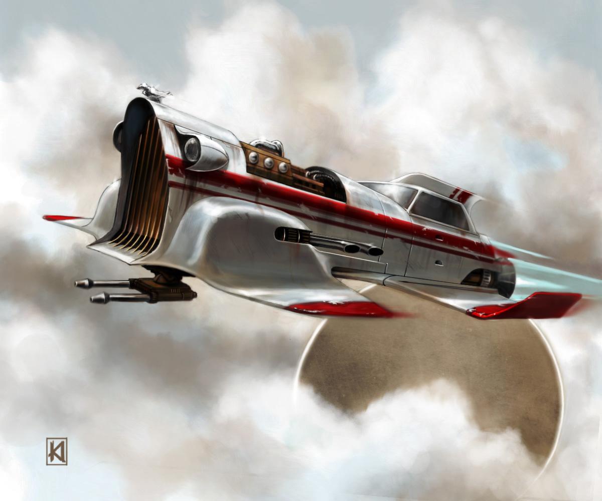 Vintage Science Fiction Wallpaper Google Search: Sugar's Art: Rocket Ship