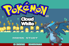 [HACK-ROM] Pokemon Cloud White(GBA)