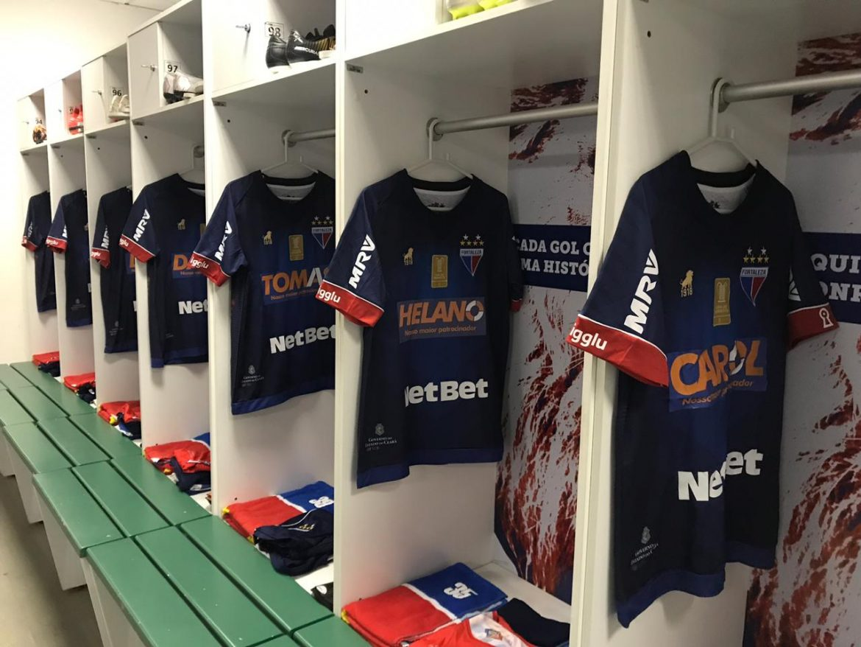 Mantos do Futebol  Site de apostas NetBet Brasil patrocina camisa do  Fortaleza EC a43f3693908f5