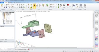 Screenshot 3 : DesignSpark Mechanical 3D CAD | Software Listrik & Mekanik
