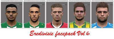 Eredivisie Facepack Vol 6