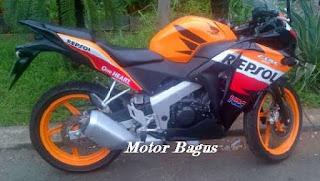 Harga pasaran motor CBR 150 lengkap