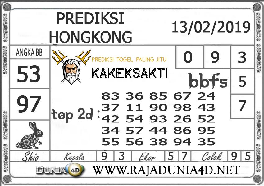 Prediksi Togel HONGKONG DUNIA4D 13FEBRUARI 2019