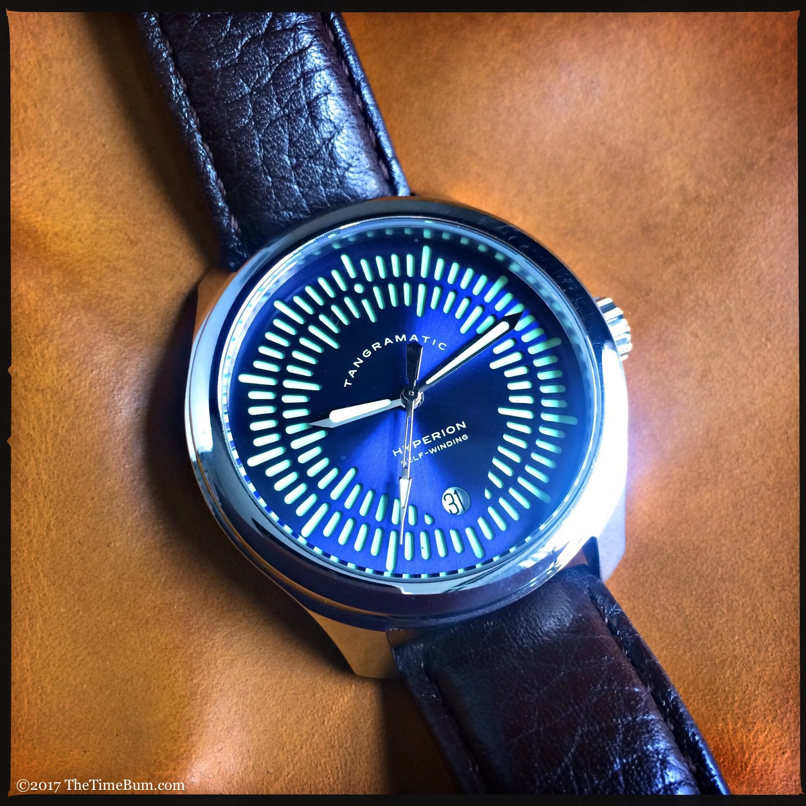 Tangramatic Hyperion automatic date