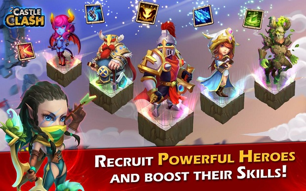 Castle Clash: Age of Legends Android Apk