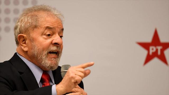 Lula denuncia 'persecución' judicial tras negación de su apelación