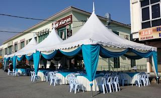 Memilih dan Membeli Pakej lengkap yang sesuai untuk bisnes / perniagaan sewa kanopi / kemah / marquee tent anda