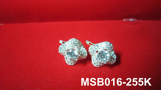 trangsuc.top - Bông tai kiểu phối đá trắng cao cấp MSB016 - Giá: 255,000 VNĐ - Liên hệ mua hàng: 0906 846366(Mr.Giang)