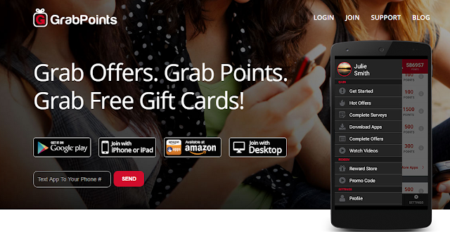 Grabpoint Free Gift Card