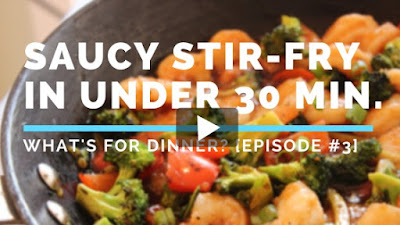 Cooking Video | Saucy Vegetable Stir-Fry in Under 30 Minutes