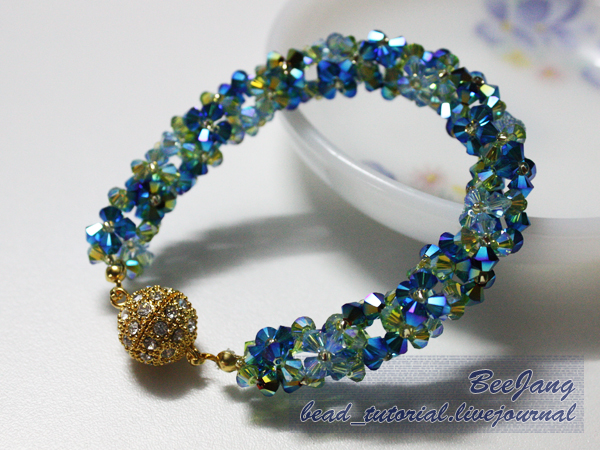 bee jang 39 s beautiful crystal beaded jewelry tutorials