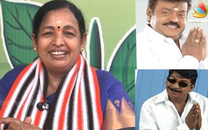 CR Saraswathi Interview : Last time its Vadivelu and this time its Vijayakanth's turn | TN Election