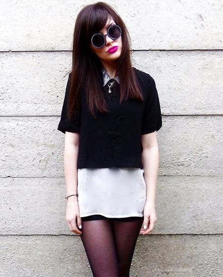 GO MONOCHROME - Fashion Tips For ShortGirls