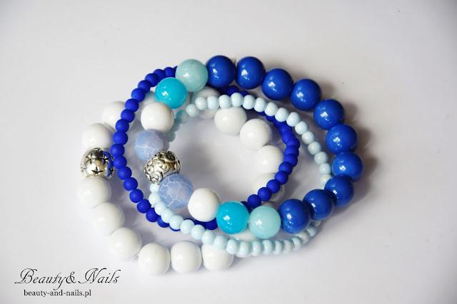 Niebieska bransoletka - EfektMagnolia.