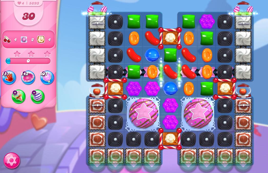 Candy Crush Saga level 5893