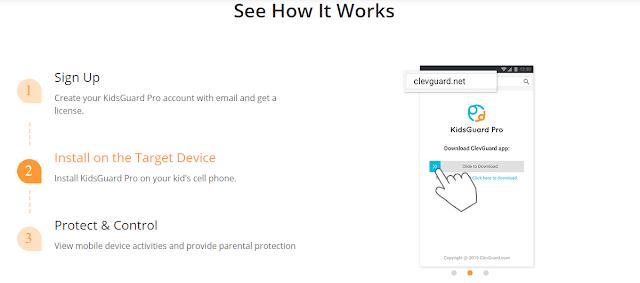 طريقة التجسس على الواتس اب ومراقبة الهواتف الذكية عن بعد - راقب هواتف عائلتك كانك معهم - KidsGuard Pro