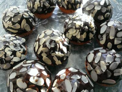 Muffiny z czekoladą i bakaliami