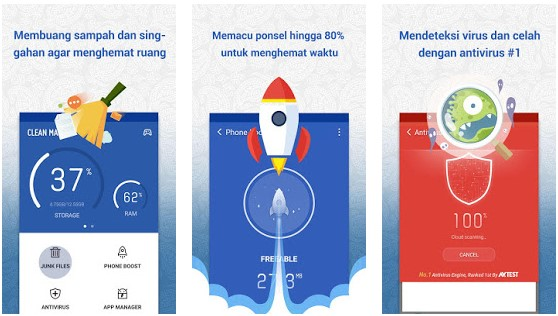 Cara Mengatasi HP Xiaomi Lemot dan Hang - Clean Master
