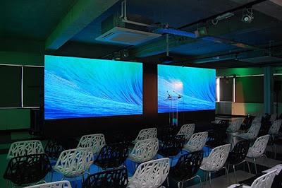 Lắp đặt màn hình led p2 trong nhà tại Long An