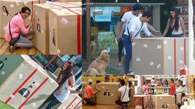 OLX.in Dua Kamao task: Inside the Box in Bigg Boss house