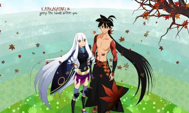 Katanagatari - Daftar Rekomendasi Anime Action Romance Terbaik